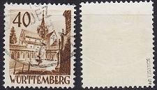 Buy GERMANY Alliiert Franz. Zone [Württemberg] MiNr 0035 ( O/used ) [01] geprüft