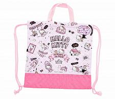 Buy New Hello Kitty Drawstring Bag: Quilted Sanrio Free Shipping