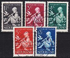 Buy NIEDERLANDE NETHERLANDS [1938] MiNr 0322-26 ( O/used )