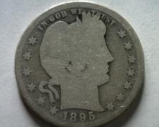 Buy 1895-O BARBER QUARTER DOLLAR GOOD G NICE ORIGINAL COIN FROM BOBS COINS FAST SHIP