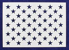 "Buy 50 Star Field Stencil 14 Mil -G-Spec 9.17"" - Painting /Crafts/ Templates"