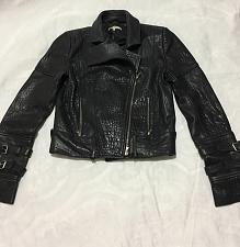 Buy CARVEN Design Lamb Leather women Jacket * missing Belt *