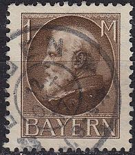 Buy GERMANY Bayern Bavaria [1916] MiNr 0104 II A ( O/used )