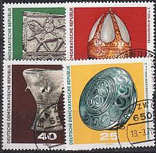 Buy GERMANY DDR [1970] MiNr 1553-56 ( OO/used ) Kunst