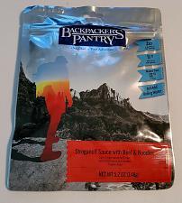Buy Backpacker's Pantry Beef Stroganoff with Mushrooms: 2 Servings FACTORY SEALED