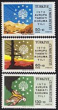 Buy TÜRKEI TURKEY [1970] MiNr 2158-60 ( **/mnh ) Natur