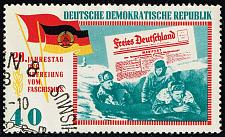 Buy Germany DDR #765 Free Germany Leaflets; CTO (2Stars) |DDR0765-03