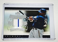 Buy MLB PRINCE FIELDER MILWAUKEE BREWERS 2007 UPPER DECK 2-COLOR GAME-WORN JERSEY
