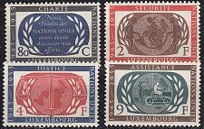 Buy LUXEMBURG LUXEMBOURG [1955] MiNr 0537-40 ( **/mnh ) UNO