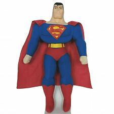 "Buy Justice League Toy Factory Superman Plush Plastic Face 16.5"""