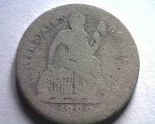 Buy 1889 SEATED LIBERTY DIME ABOUT GOOD / GOOD AG/G BOBS COINS FAST SHIPMENT