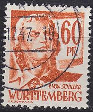 Buy GERMANY Alliiert Franz. Zone [Württemberg] MiNr 0010 yv ( O/used )