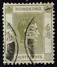 Buy Hong Kong #161 King George VI; Used (4.00) (0Stars) |HKG0161-01
