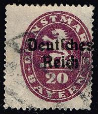 Buy Germany-Bavaria #O55 Official Stamp; Used (1.60) (0Stars) |BAYO55-02XVA