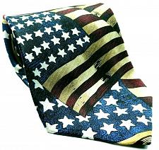 Buy American Flag Of 1861 Americana Patriotic Stars Stripes Novelty Silk Necktie