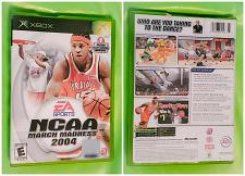Buy XBOX NCAA MARCH MADNESS 2004 VIDEO GAME DISC ORIGINAL CASE AND BOOK LOW BID