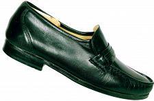 Buy Bostonian Stockbridge Men's Black Leather Moc Toe Slip On Loafer Shoe 9.5 M