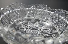 Buy American Brilliant Period Cut Glass Illinois bowl Krantz Smith ABP Antique