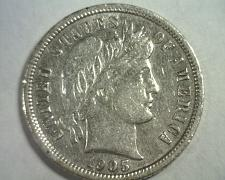 Buy 1905-S BARBER DIME EXTRA FINE/ ABOUT UNCIRCULATED XF/AU NICE ORIGINAL COIN EF/AU