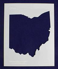 Buy State of Ohio Stencil 14 Mil Mylar - Painting /Crafts/ Templates