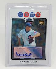 Buy MLB KEVIN HART CHICAGO CUBS AUTOGRAPHED 2008 TOPPS CHROME ROOKIE MINT