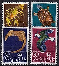 Buy LIECHTENSTEIN [1976] MiNr 0644-47 ( O/used ) Tiere