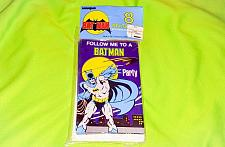 Buy Vintage 1982 Batman Birthday Party Invitations - Dc Comics
