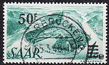 Buy GERMANY Saar [1947] MiNr 0238 II ( O/used ) [04]