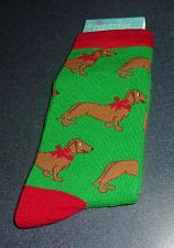 Buy Brand New Dachshund Doxie Size 9 to 11 Ladies Crew Socks For Dog Rescue Charity