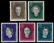 Buy Germany DDR #B49-B53 Woman War Victims Complete Set; MNH (4Stars) |DDRB0053set-05