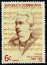Buy Dominican Rep. #864 Emilio Prud'Homme; Used (3Stars) |DOR0864-04XRS