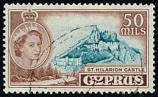 Buy Cyprus #178 St. Hilarion Castle; Used (4Stars) |CYP0178-02XRS