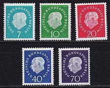 Buy GERMANY BERLIN [1959] MiNr 0182-86 ( **/mnh )