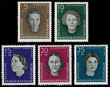 Buy Germany DDR #B49-B53 Woman War Victims Complete Set; MNH (4Stars) |DDRB0053set-04