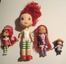 Buy Strawberry Shortcake Vintage Dolls Lot of 4