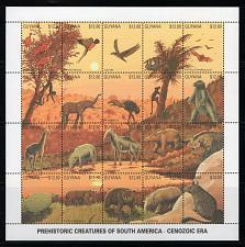 Buy GUYANA - 1990 Fauna of the Cenozoic Era M2893
