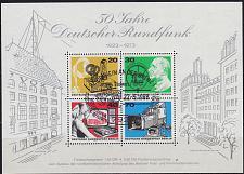 Buy GERMANY BERLIN [1973] MiNr 0455-58 Block 4 ( Sonder-O/used ) [02]