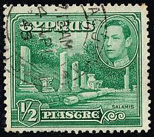 Buy Cyprus #144 Columns at Salamis; Used (3Stars) |CYP0144-09XRS