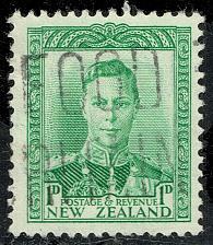 Buy New Zealand #227A King George VI; Used (3Stars) |NWZ0227A-05