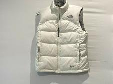 Buy The North Face Goose Down 600 Stow vest quilted Size Girls M White