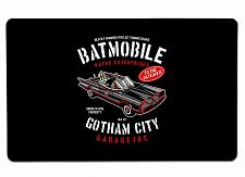 """Buy Batmobile Large Mouse Pad 10"""" x 16"""" Mat Placemat Pop Culture Inspired Nerdy Geek"""