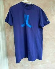 Buy WESC Men's Cotton short sleeve T-shirt Purple SZ M