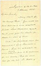 Buy 2/9/1855 President James Buchanan Autographed/Signed twice London Letter G. Webb