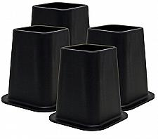 Buy Kings Brand Furniture - Heavy Duty 6-inch Bed Risers, Furniture Riser, Great for