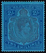 Buy Bermuda #123b King George VI; Unused (3Stars) |BER0123b-02XVK