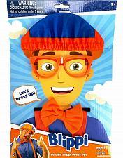 Buy Blippi Roleplay Dress Up Costume Kit Hat Glasses Suspenders Bow Tie Imagination