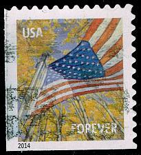 Buy US #4784b Flag in Autumn; Used (3Stars) |USA4784b-05