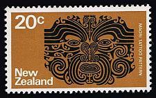 Buy New Zealand #452 Maori Tattoo Pattern; MNH (4Stars)  NWZ0452-05XKN