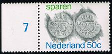 Buy Netherlands #534 Rubbings of Coins; MNH (4Stars)  NED0534-04XKN