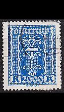 Buy ÖSTERREICH AUSTRIA [1922] MiNr 0395 ( O/used )